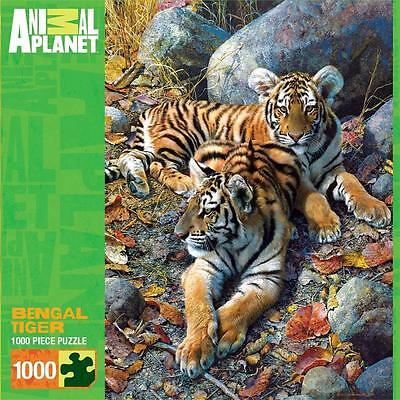 Masterpieces Animal Planet Jigsaw Puzzle Bengal Tiger 1000 Pcs   71528