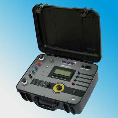 Tinsley Mo-5898-100a 100 Amp Digital Micro-ohmmeter 1ma To 100a 200 Dlro