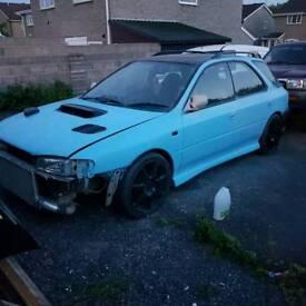 Subaru wagon uk2000 project