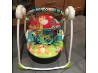 Bright Starts Baby Portable Swing RRP £60