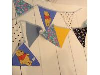 New Blue Bunting