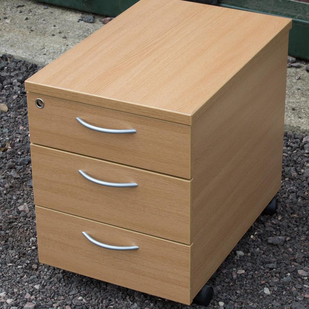 Wheeled Drawer Unit For Office Desk