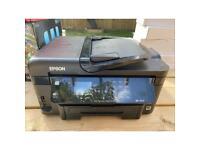 Epsom colour copy fax scan with duplex printer
