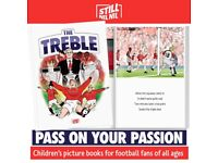 'The Treble'- children's picture book about Manchester United's epic 1998/99 season