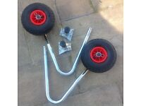 Launch Wheels for Honwave Air V Floor inflatable Dinghy