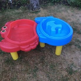 Little tykes sand and water tray