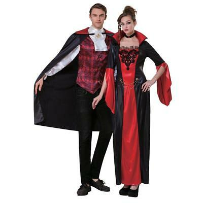NEW WOMENS TOTALLY GHOUL GOTHIC VAMPIRESS COSTUME HALLOWEEN DRESS UP SIZE OSFM (Womens Gothic Halloween Costumes)