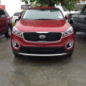 2016 Kia Sorento EX/V6/AWD  w/LEATHER, BACK-UP CAM