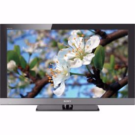 Sony Bravia 40 inch Full HD 1080p Flat LCD TV, Freeview HD built in, USB, 4 x HDMI not 39, 42, 43