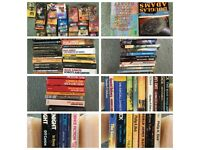 Last day - quick sale - 480 SciFi Paperback Book Collection - Good condition