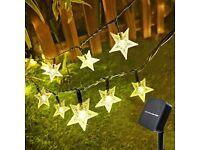 NEW Solar Star String Lights 33FT 100 LED Bulbs