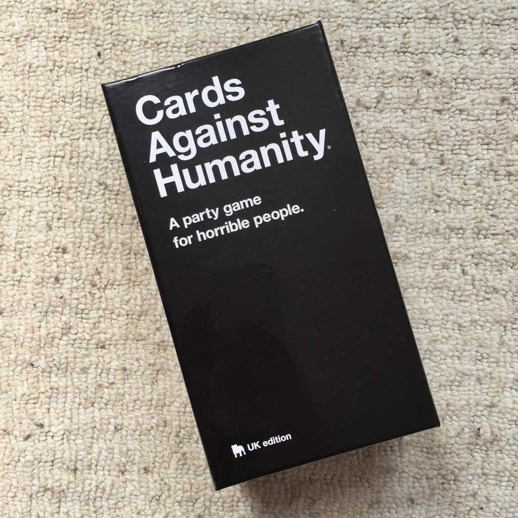 Cards Against Humanityin Shepherds Bush, LondonGumtree - Cards against humanity board game. Brand new! Super fun, moving abroad so selling. Check out my other items