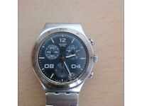 SWATCH IRONY STAINLESS STEEL CHRONOGRAPH YCS564G