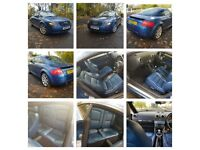 QUIK SALE CALLS ONLY Audi TT Coupe MK1 1.8 T Quattro 3dr 180BHP FULL AUDI DEALER HISTORY May Is Px