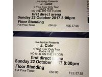 J. Cole Tickets - Leeds 22nd October