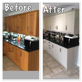 Kitchen and Furniture Spraying!!
