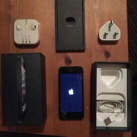 iPhone -16GB, Black, Unlocked, Good Condition.