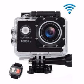 Action Camera WiFi DISCOVER-1012FS 12MP 1080P Waterproof 30m