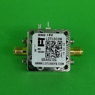 Gain Block Amplifier 3.5db Nf 4g To 10ghz 15db Gain 13dbm P1db Sma