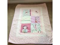 Mamas and Papas made with love bed spread