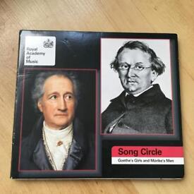 Various Performers : Goethe's Girls and Morike's Men CD (2010)