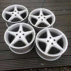 "17"" Artec Alloy Wheels - 4x100 VW Golf Mk2 BMW E30 not BBS Azev OZ"