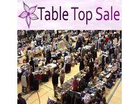 Littledown General Table Top Sale - indoor carboot