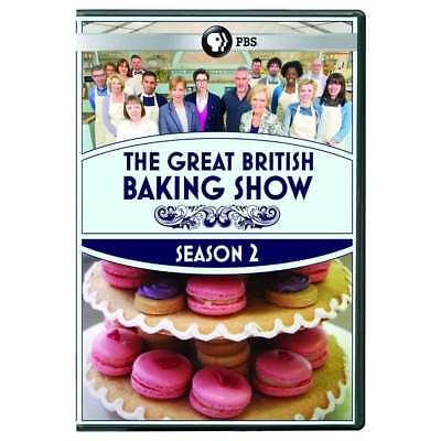 Great British Baking Show Season 2 Dvd New Dvd  Ships Fast