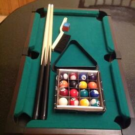 Mini pool table!