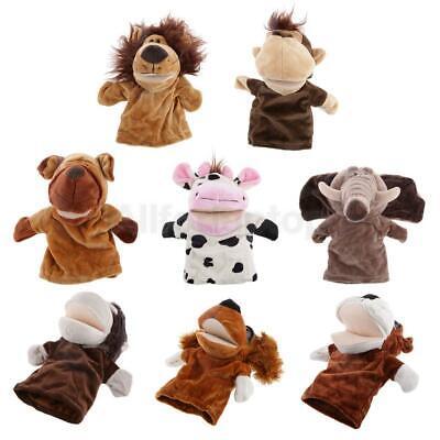 Baby Handpuppen-Set Plüschtier Handpuppen-Tiere Fingerpuppen Plüsch Spielzeug