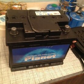 Car battery type 027/065 type equivalent ( 60ah) various fitments