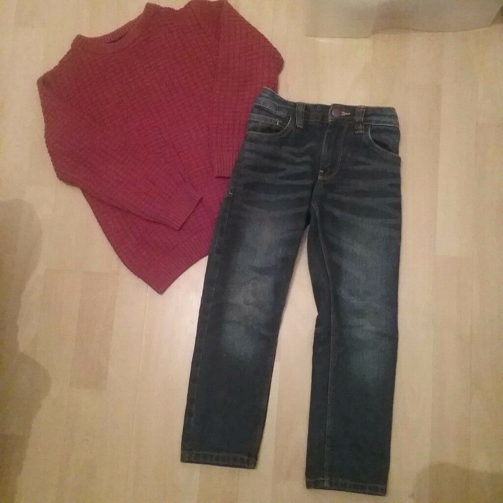 NEXT JUMPER AND JEANS