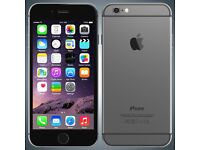 iphone 6 16gb Grey Grade C 6 month free warranty free accessories
