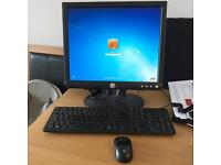 """Dell Desktop PC with 17"""" LCD Monitor"""