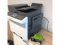 Lexmark CX410de (Wireless Bundle) A4 Colour Multifunction Laser Printer