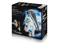 Signature 4 In 1 Grooming Kit Gents Rechargeable Cordless Nose Hair Trimmer Set A brand-new
