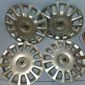 """Vauxhall Corsa D 14"""" wheel trims in good condition"""