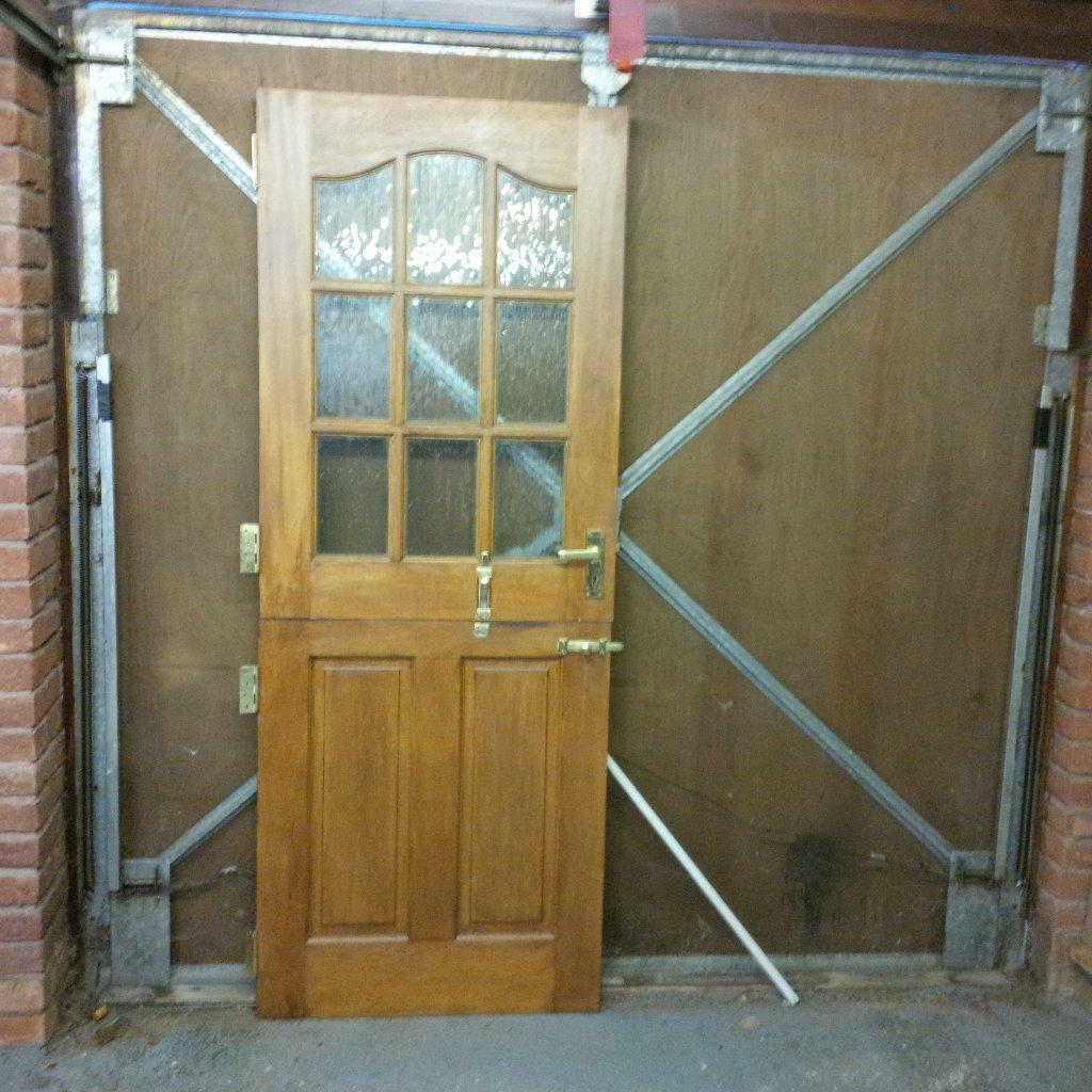 "Kitchen Stable Doors: Hardwood ""stable"" Kitchen Door"