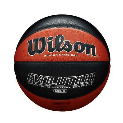 Wilson Evolution Match Indoor Basketball Ball Tan Black Size 6 or