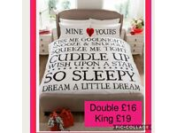 ❤Fab Valentine's Gift - Mine and Yours Duvet Set