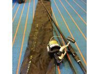 ESP spod rod + Shimano Aerlex reel carp fishing