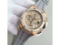 MENS AP ROYAL OAK OFFSHORE LEBRON JAMES LIMITED EDITION NEW WITH BOX BOOK CARDS TAGS