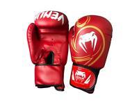 VENUM Adult Boxing Gloves Sparring Muay Thai Punch Bag MMA Kickbox