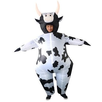 re Kuh Kostüm Overall Halloween Party Kostüm (Aufblasbare Kuh)