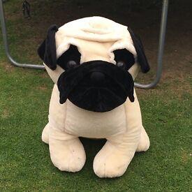 PUG cuddly soft toy