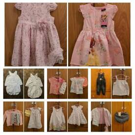 Girls clothes 12-18 months some new with tags