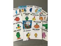 Mr Men books (17 great condition)