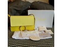 Stunning yellow Chloe Faye bag