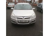 2007 Vauxhall Astra 1.6 ELITE 5dr hatchback petrol manual facelift model full history £1195