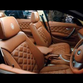 MINICAB LEATHER CAR SEAT COVERS TOYOTA PRIUS TOYOTA PRIUS PLUS TOYOTA AURIS HONDA INSIGHT HYBRID Car